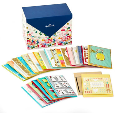 Stock up for special celebrations and life events—birthdays, weddings, baby showers and more—throughout the year with this set of handmade cards in a convenient organizer box.