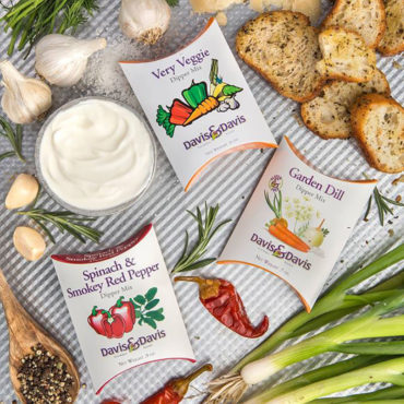Davis & Davis - Great for parties or just a snack for one, our Dipper Mixes combine herbs and spices from around the world to create tastes that delight, inspire and impress.