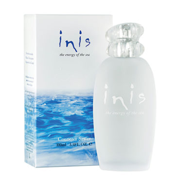 Inis the Energy of the Sea Cologne Spray - An ocean-fresh unisex scent that's clean and invigorating, Inis instantly refreshes and makes you feel close to the sea - no matter where you are.