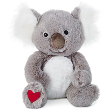 Make someone have a 'G'day' with our adorable Kuddle Koala stuffed animal that lets them know you love them 'koala-the-time!'