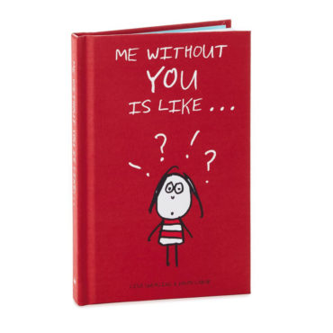 Filled with scenarios that are simply incomplete without two, this charming book by famed cartoonist couple Lisa Swerling and Ralph Lazar is an adorable way to share how you feel with a special someone.