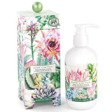 Michel Design Works - We have a variety of beautifully-scented hand and body lotions, and one of our favorites is our Pink Cactus Collection, new for 2019.