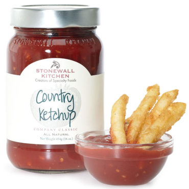Stonewall Kitchen Country Ketchup - how many times have you wished it just tasted better? Well, now it does. Made with the freshest, ripest tomatoes and a little magic from some select spices, we believe we made what could be the best tasting ketchup available.