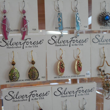 Silver Forest jewelry is enchanting, playful, and full of color and texture. Their jewelry is made using quality materials and lovingly handcrafted in Southern Vermont.