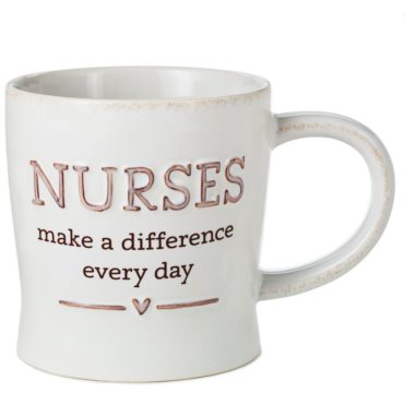 Find this Nurses make a difference every day mug and many others like it at Rhoads today!