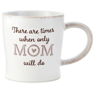Find all your Mother's Day gifts at Rhoads including this Mom will do mug.